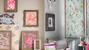 decoracao com papel de parede