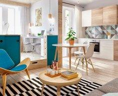 papel de parede para apartamento pequeno