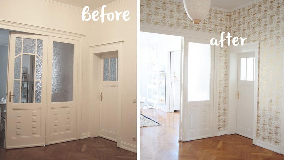 papel de parede para apartamentos pequenos