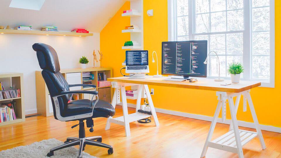 papel de parede para escritório moderno