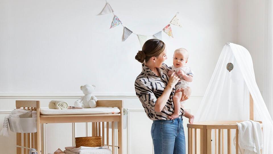 como decorar Quarto de Bebe com Papel de Parede