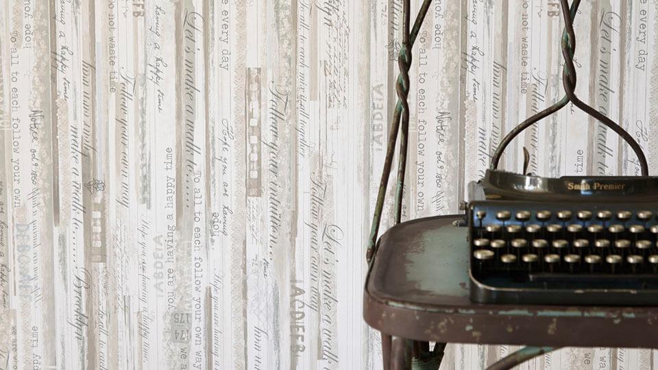papel de parede rustico