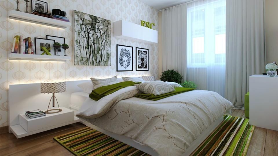 escolher tapetes para quarto