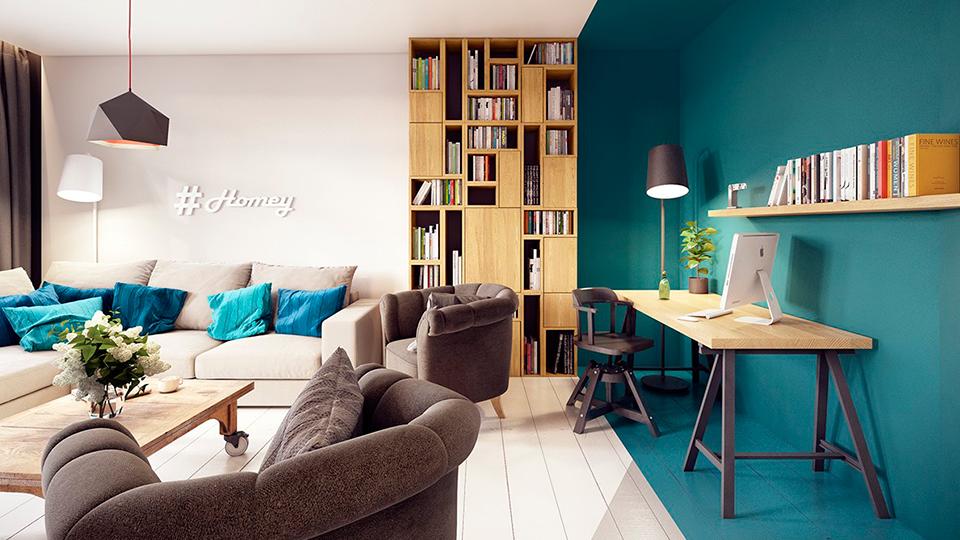dividir ambientes sem usar as paredes