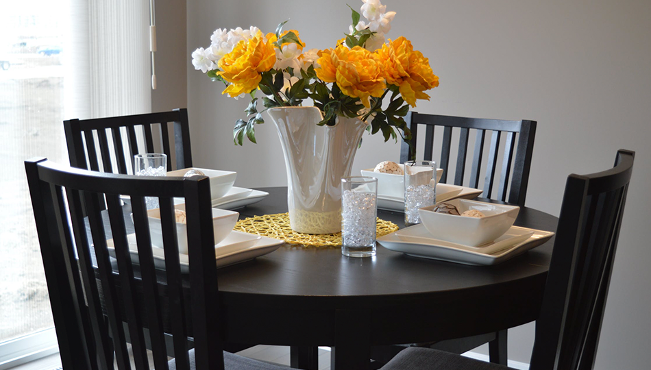 decorar salas de jantar pequenas