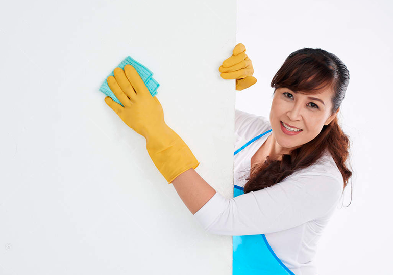 papel de parede lavável