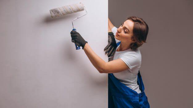 como preparar cola para papel de parede