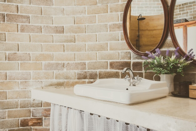 papel de parede para banheiro decoração e tendência